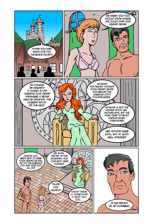 21- At Glinda's palace
