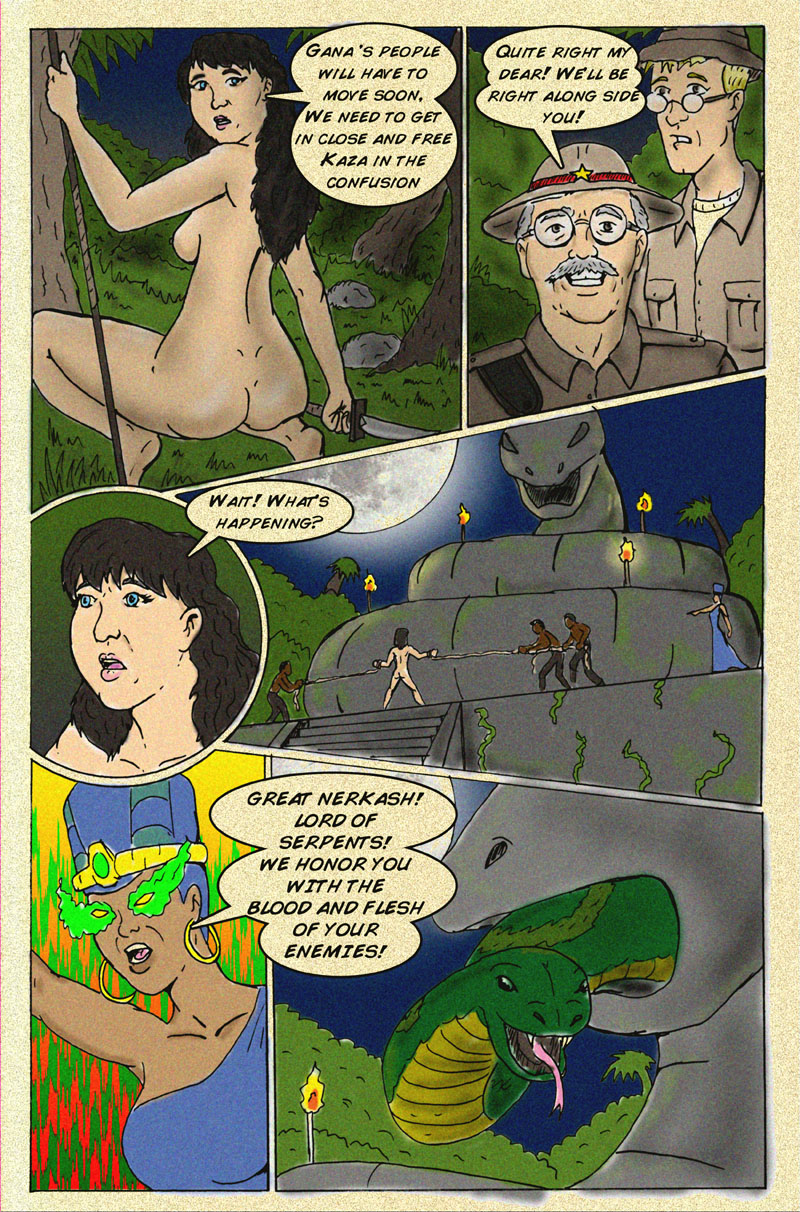 The Serpent Sorceress Page 9