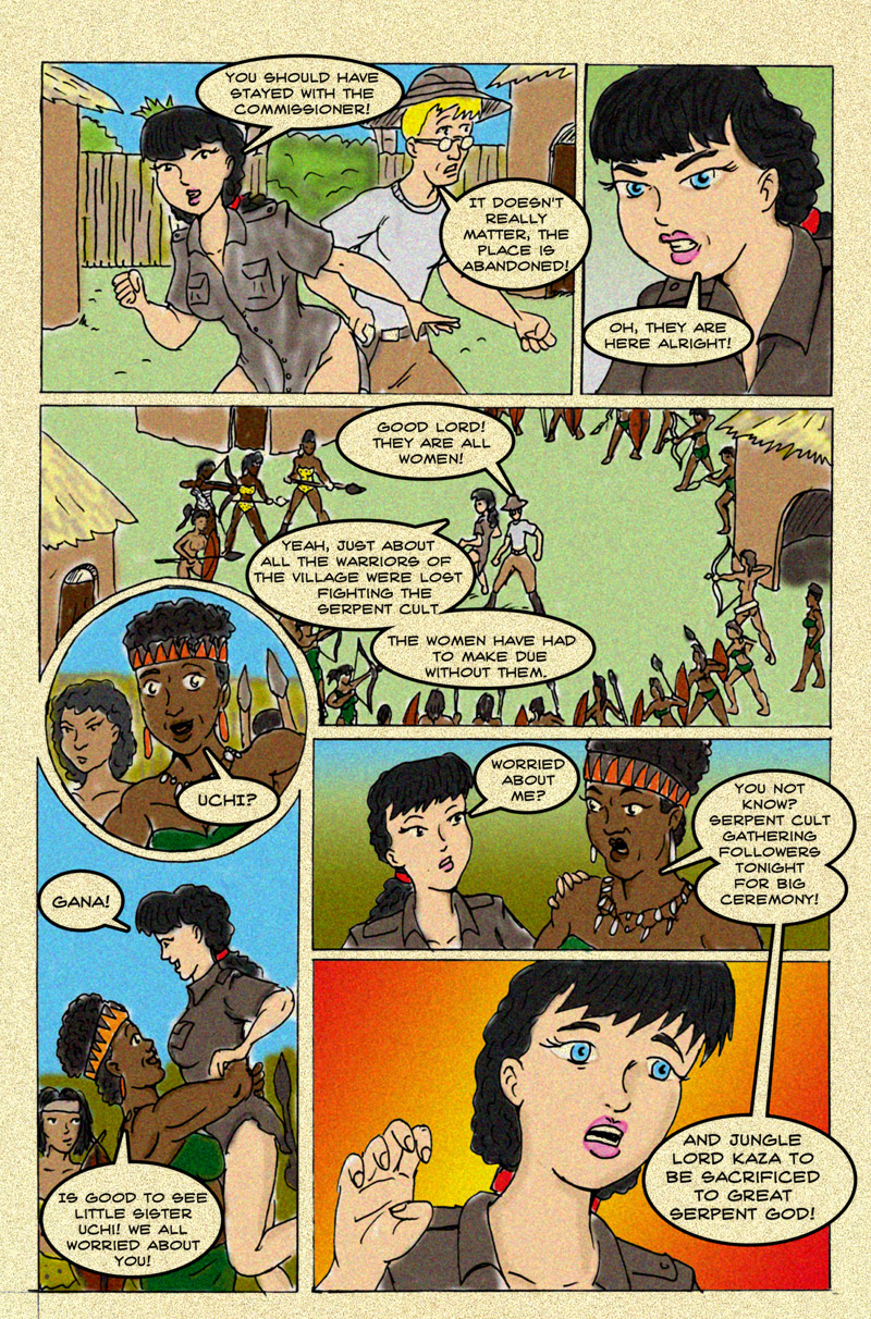The Serpent Soprceress: Page 7