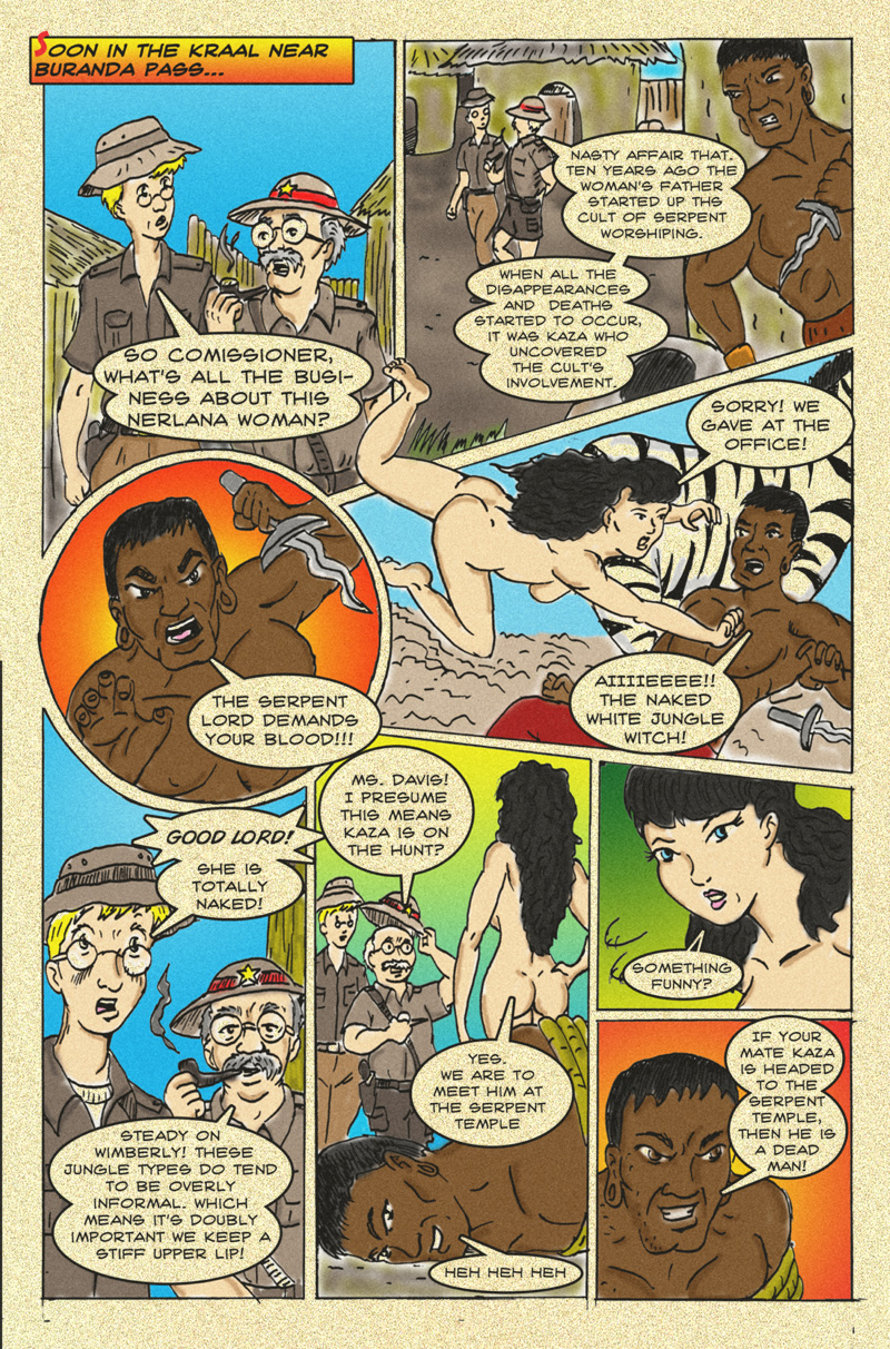 The Serpent Sorceress: Page  Four